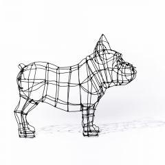 escultura bulldog