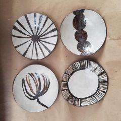 conjunto com 4 pratos sertão