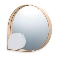 espelho gota orvalho branco