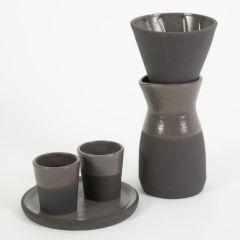 kit café cerâmica silver
