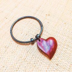 pulseira coração alado