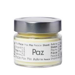 Vela Perfumada Pavio de Vela: PAZ - 145g